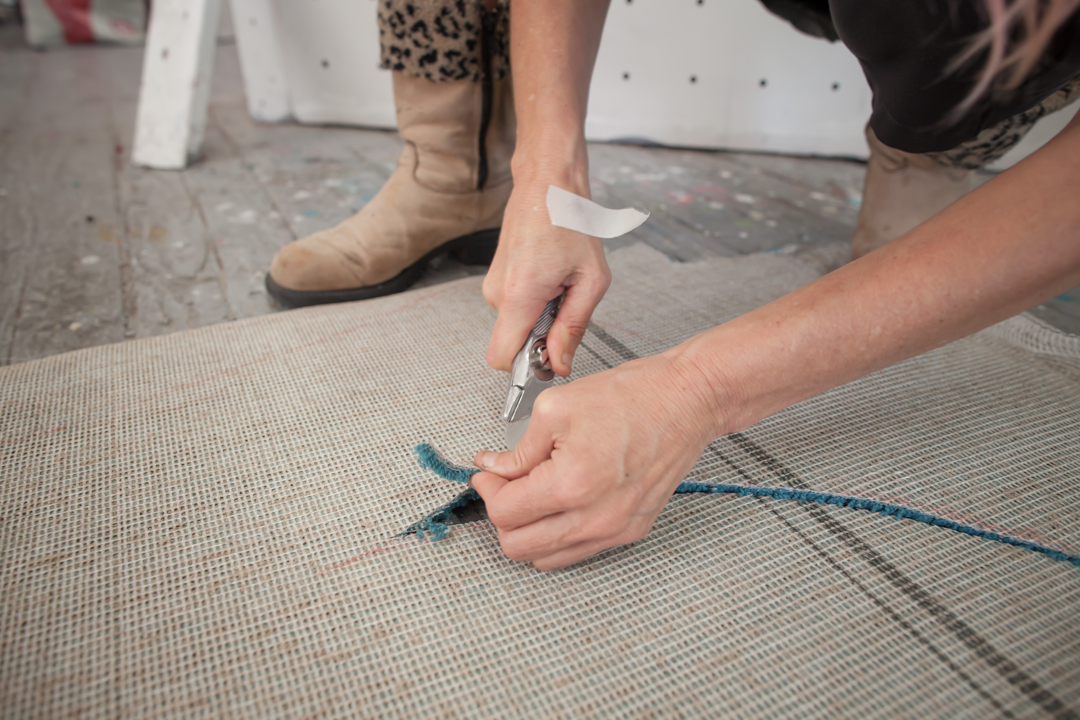 Picture of Cutting the Carpet
