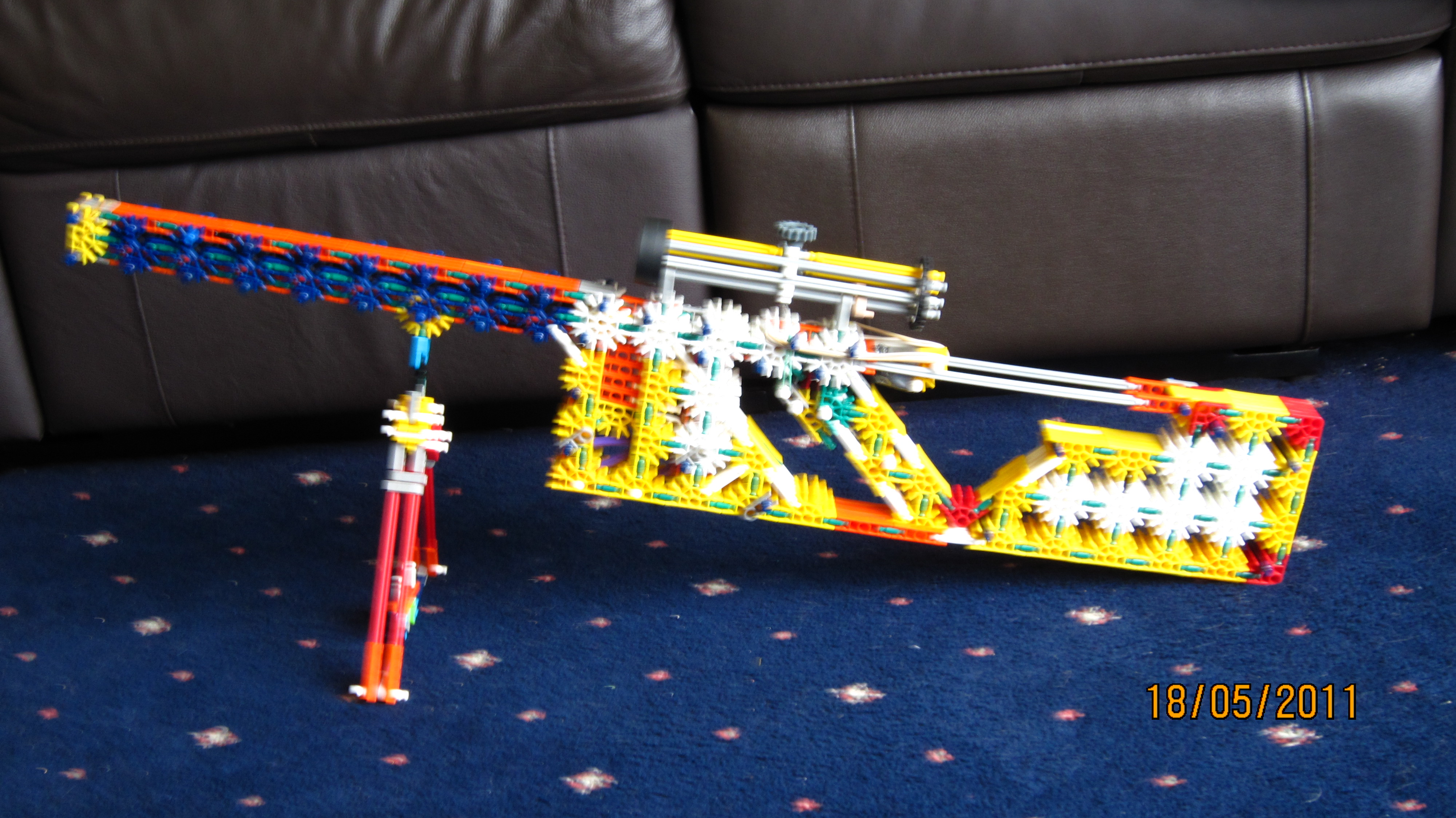 Picture of Large Knex Sniper Rifle