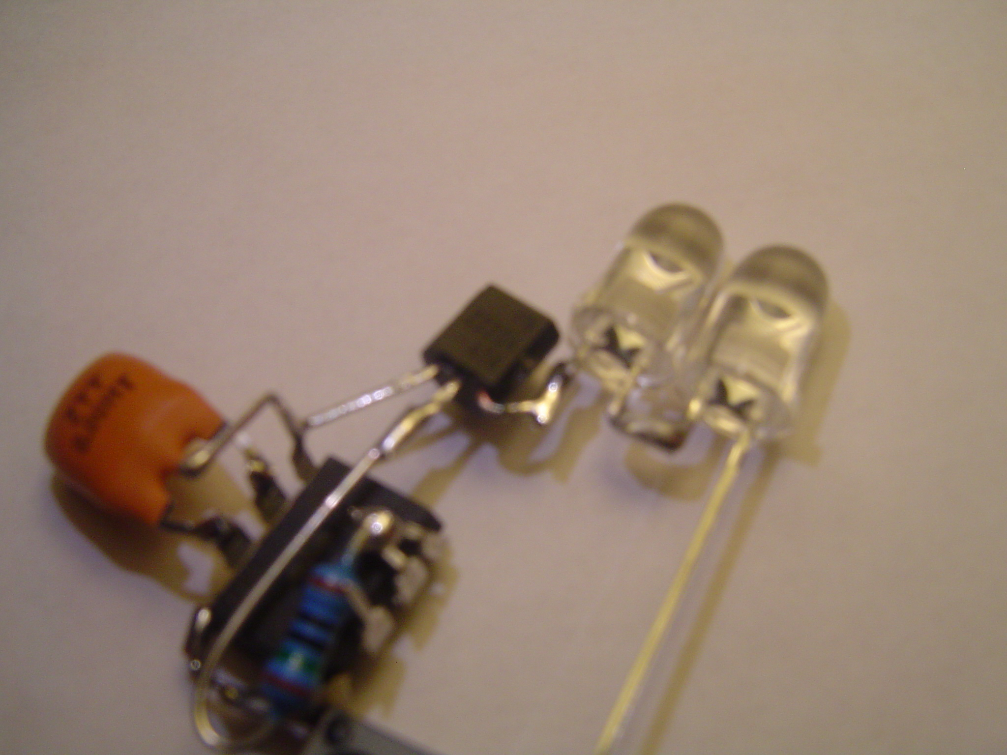 Picture of Add the LEDs