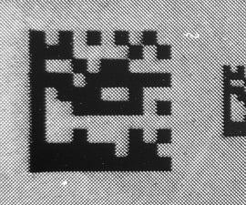 Ember Printer: Bar Codes for Small Parts