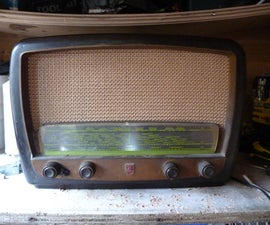Turn a 1950s Wireless Into a Portable Ipod Speaker