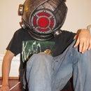 My Big Sister helmet/lamp!