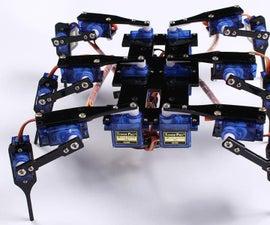Hexapod4 Spider RobotInstruction Manual