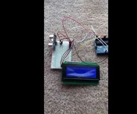 Connecting an LCD Screen and an Ultrasonic Distance Sensor to an Arduino