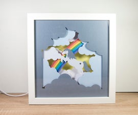Unicorn Lighted Frame
