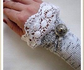 Transforms socks into warmers