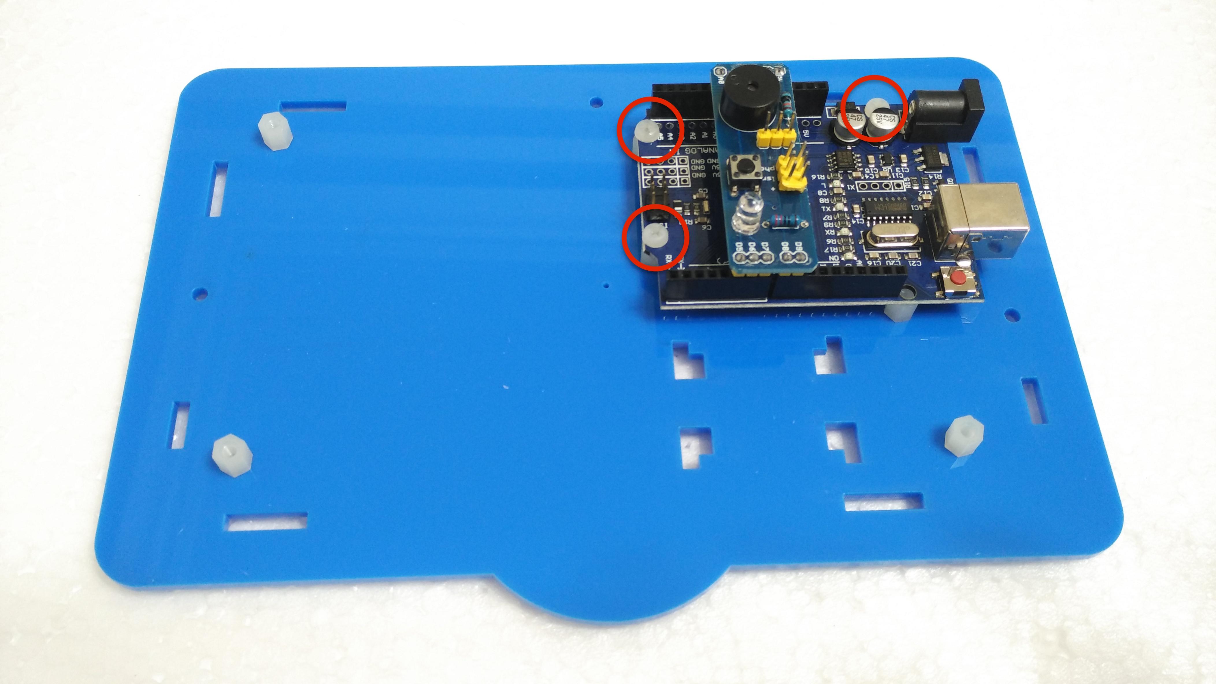 Picture of 安裝主電路板