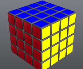 Solve the 4 by 4 Rubiks Cube ,Easy!