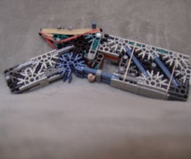 knex heavy assault pistol: the pounder