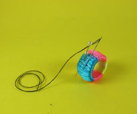 Sewing PVC Ring, But Also a Thimble or Ring Pincushion