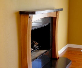 Rebuilding a Fireplace Surround