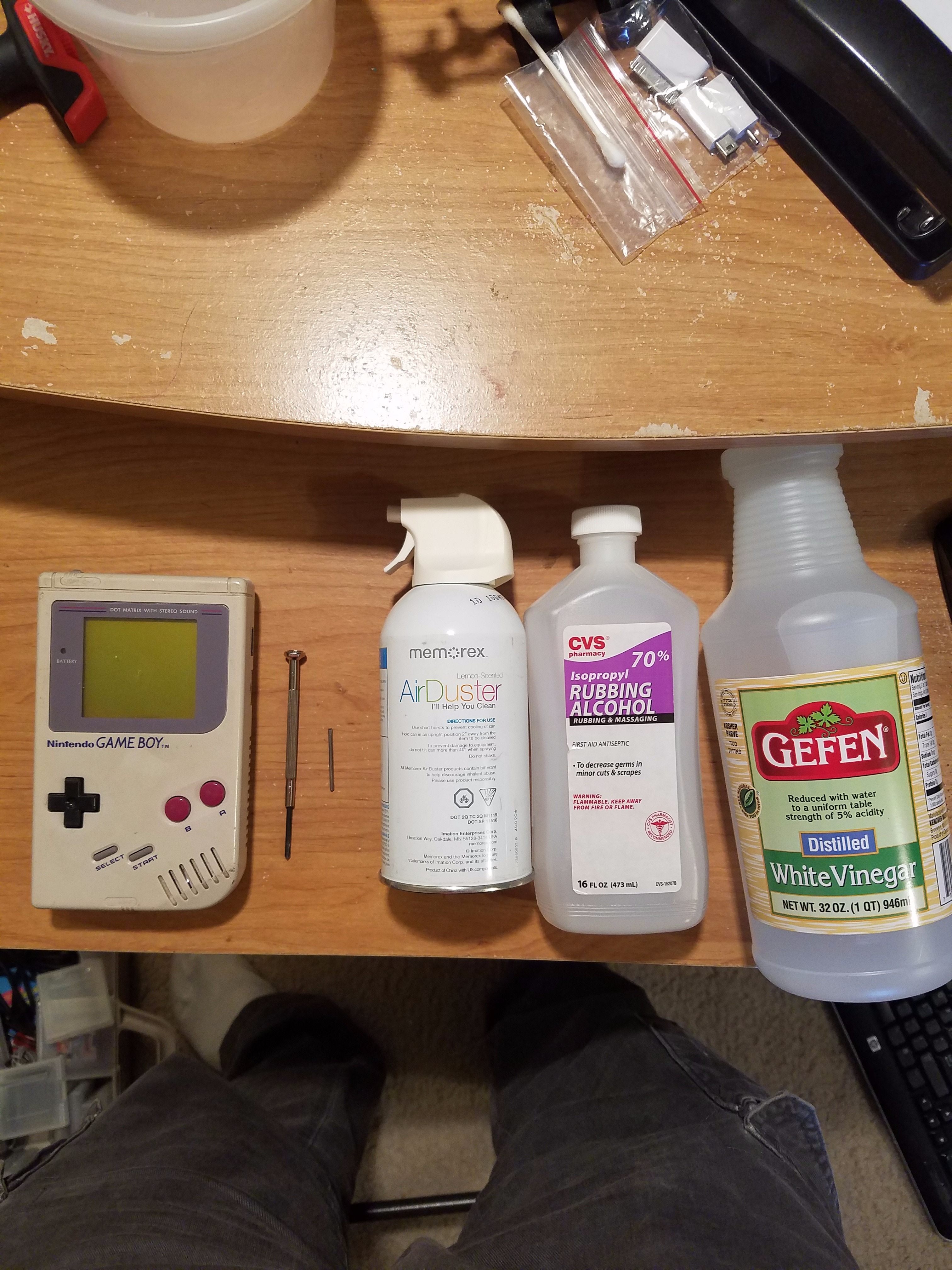 Picture of Restoring a Nintendo Game Boy