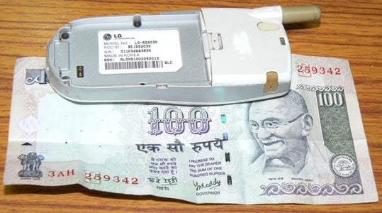 Select and Fold the Currency Bill