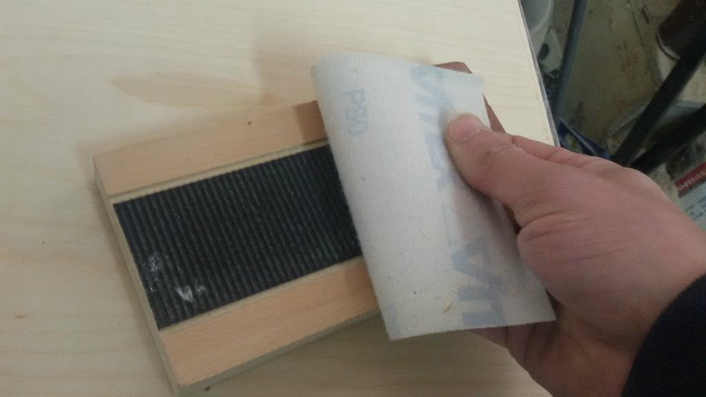 Picture of Cutting the Plywood - Making  Joining Paths of the Body of Cajon
