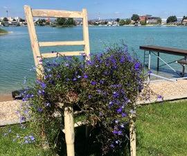 Garden Chair Flowers