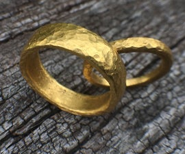Pure Gold Wedding Ring