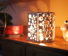 Swiss Cheese Lamp