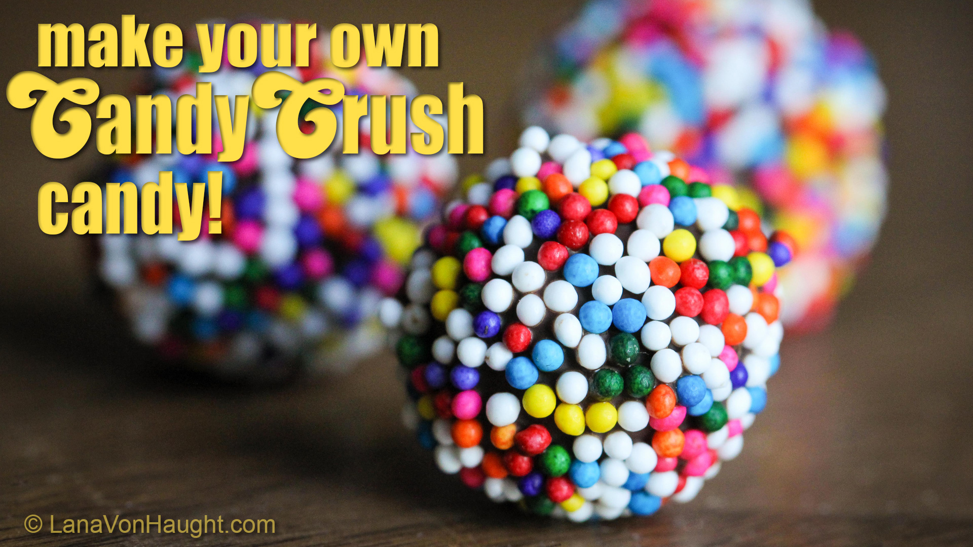 Picture of Make Your Own Candy Crush Candy Color Bombs