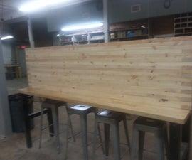 2x4 Desk 8ft Long!