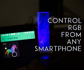 SmartPhone Controlled RGB MOOD Light  V2.0
