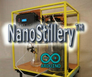 The NanoStillery™ - Automated Whiskey Distillery