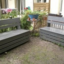 Excellent & Easy Garden Storage Bench