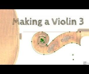 Fusion 360: Drawing a Violin Scroll