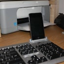 Keyboard iPod dock