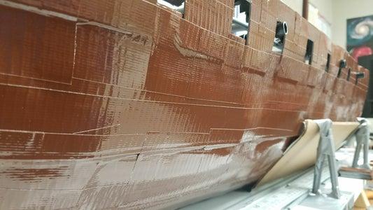 Port Holes and Interior Deck