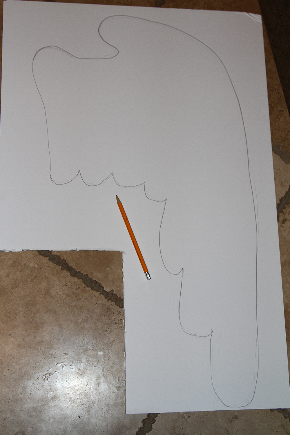 Picture of Step 1 Cut Out Your Foam Poster Board