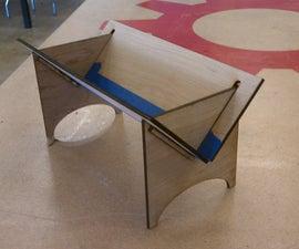 Make a Book Binding Cradle
