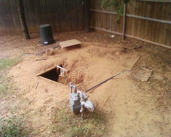 Building a Underground Fort