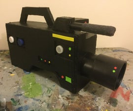 How to Make an Easy Prop Camcorder