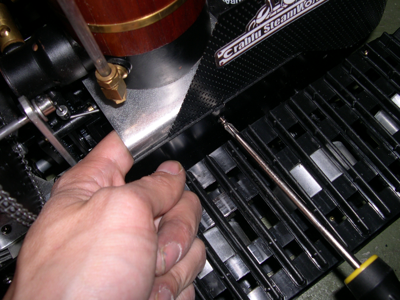 Picture of Making the Gas Tank Mount