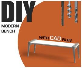 DIY Modern Bench
