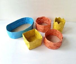 DIY Paper Baskets