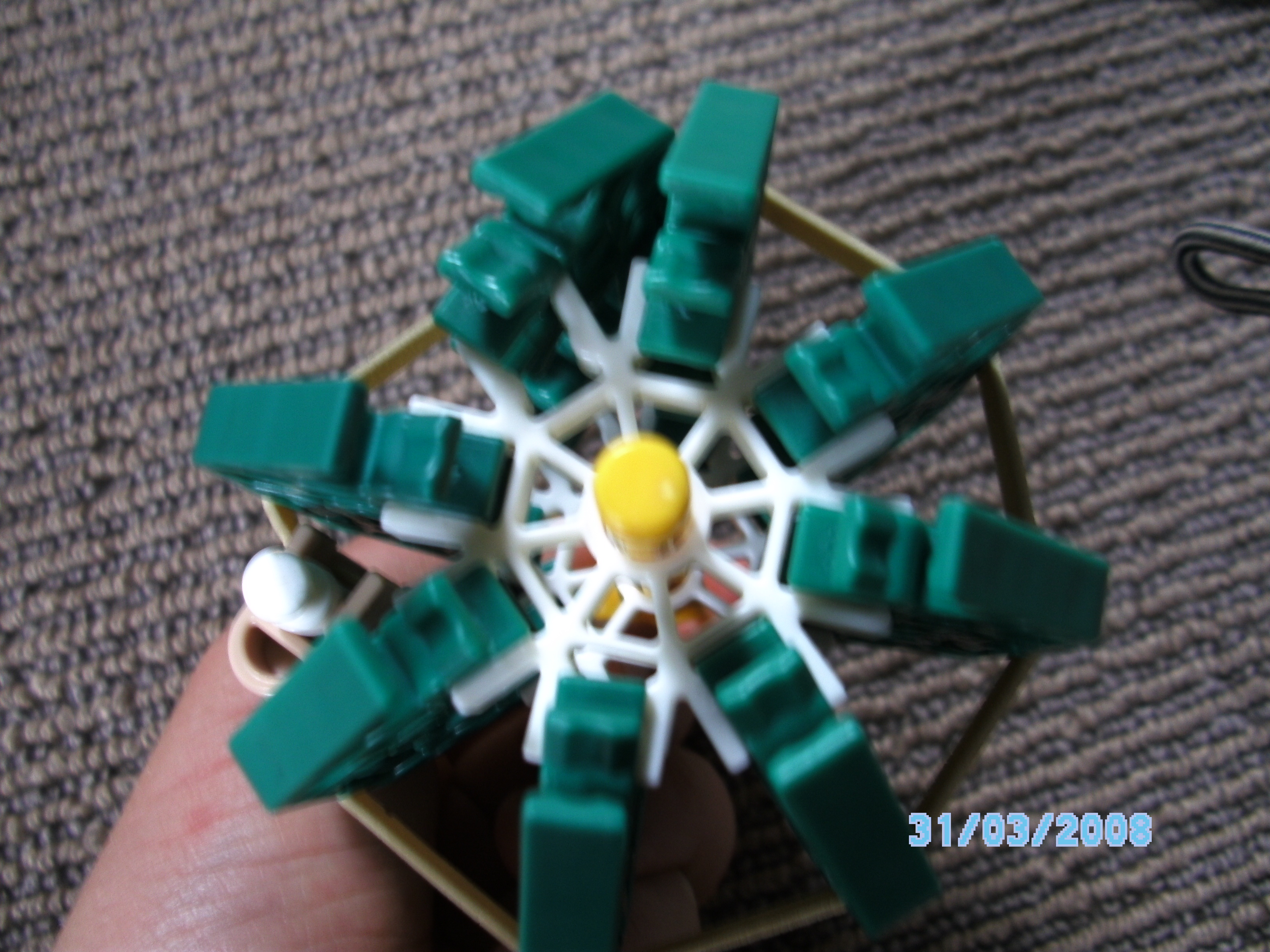 Picture of Knex Grenade With Safty Pin