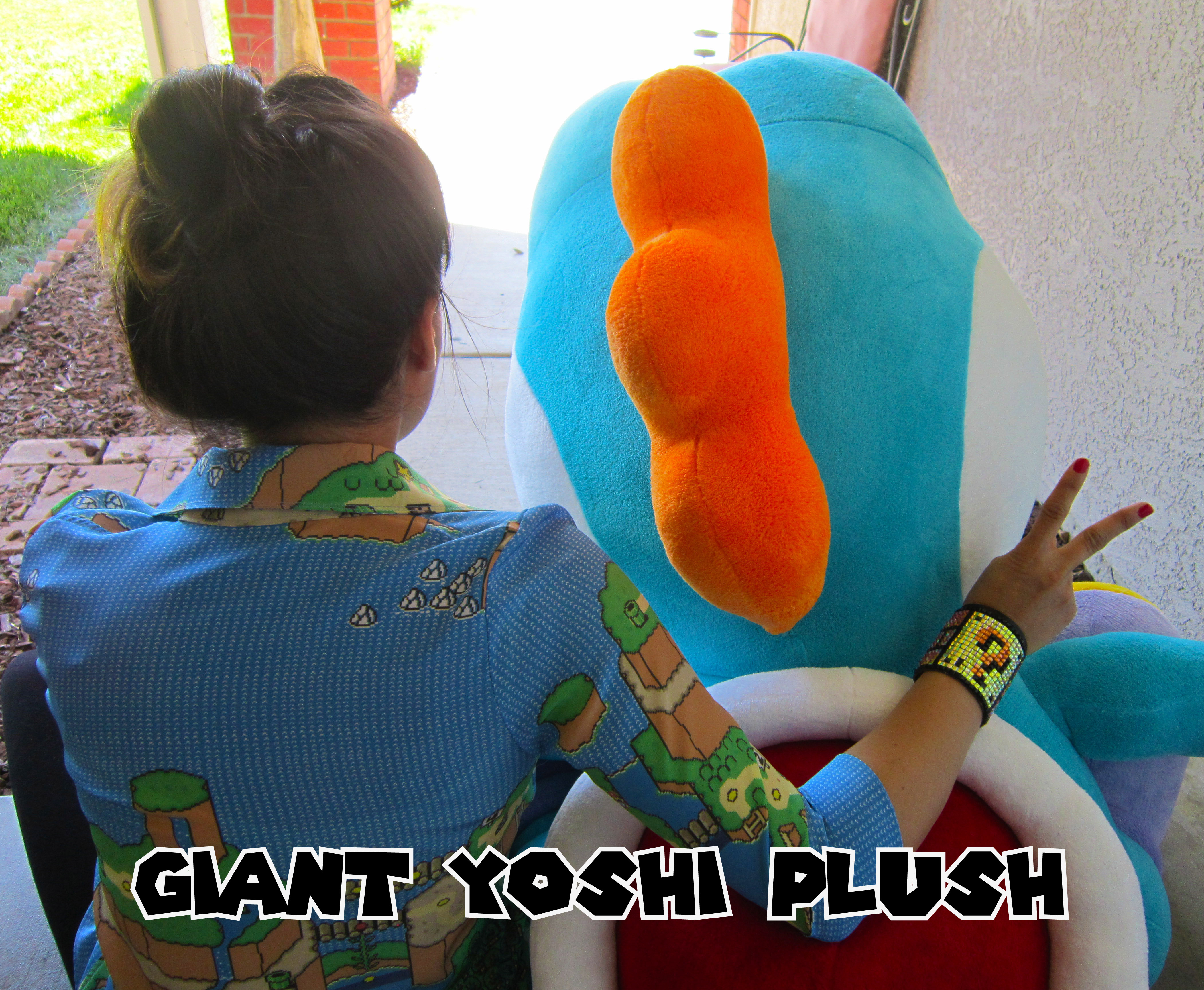 Picture of Giant Yoshi Plush