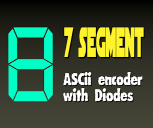 7 Segment Display Encoder (with Diodes)