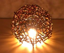 Bedside Tree Branch Lamp