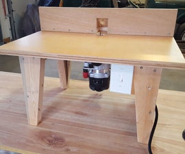 DIY Router Table