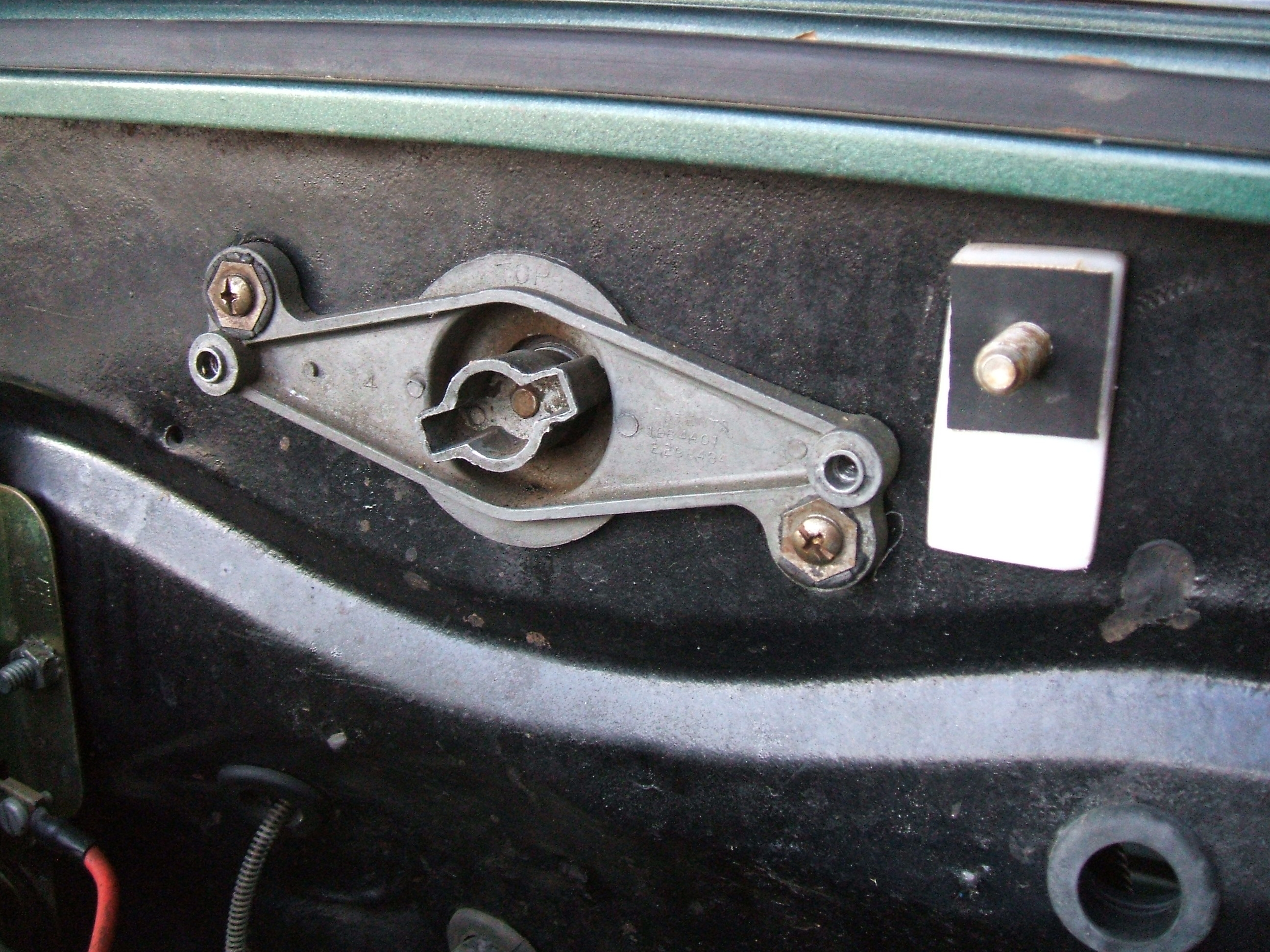 Picture of Add Firewall Mount Bolt and Spacer