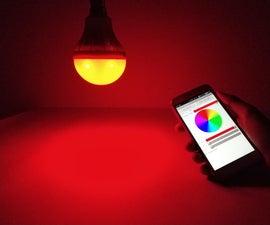 DIY RGB Smart Bulb From Scratch