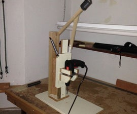 Cheap Drill Press DIY