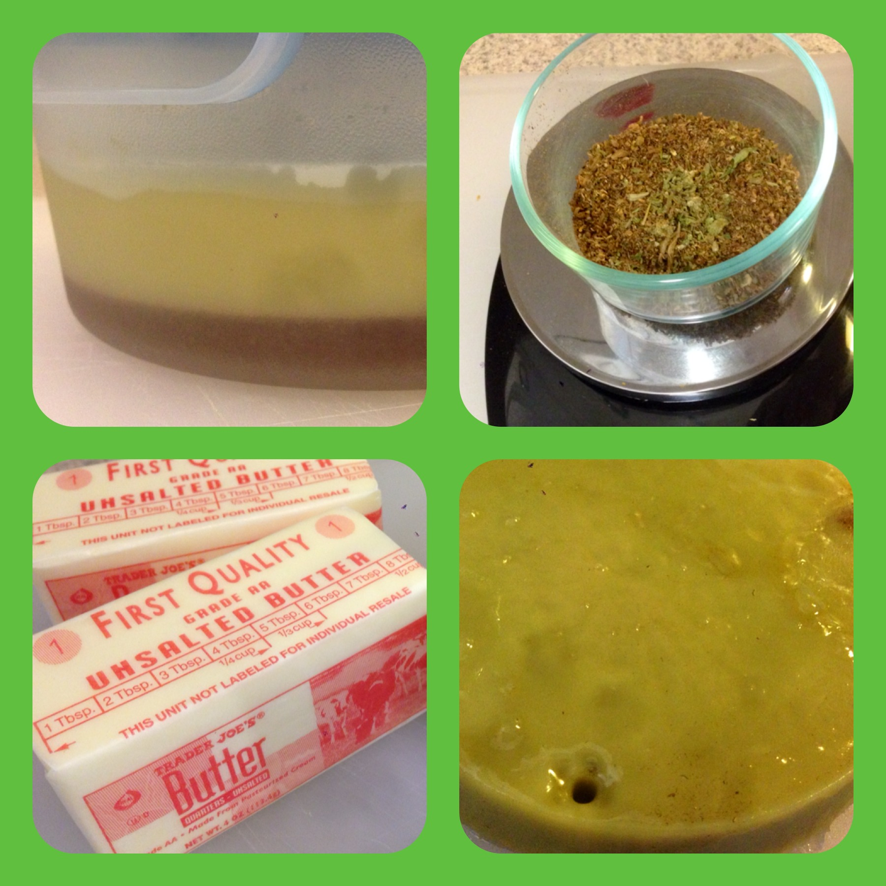 Picture of Cannabis Butter From Vaporizer Leftovers