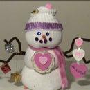 Valentine Snowman