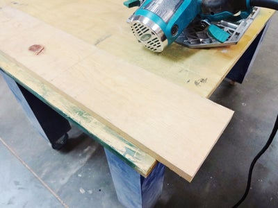 Cut and Finish the Wood