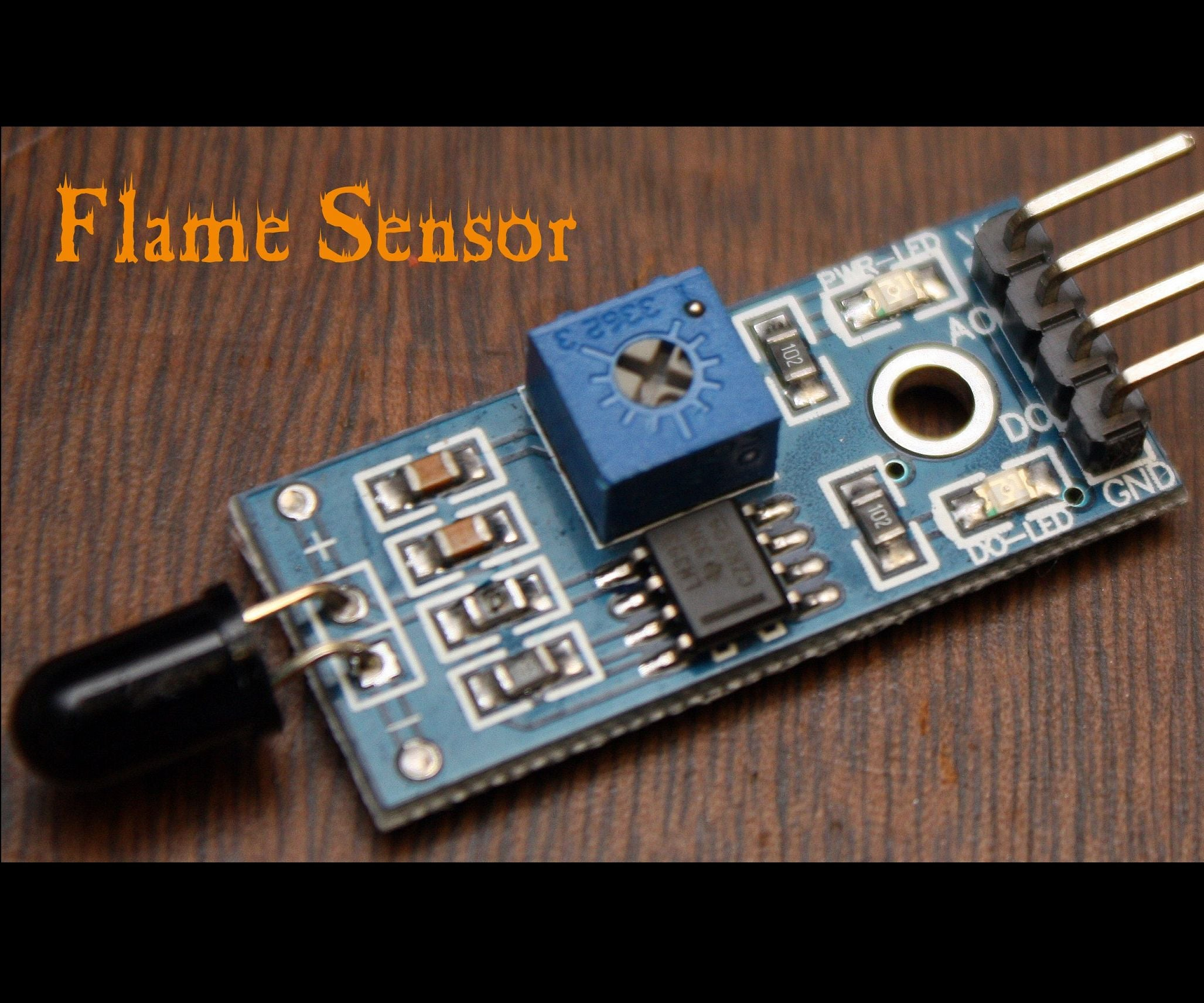 Arduino Modules Flame Sensor 4 Steps With Pictures Fire Alarm Wiring Diagram For Class X