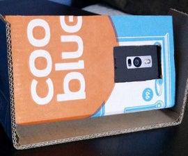 Smartphone Cardboard Camera Stand