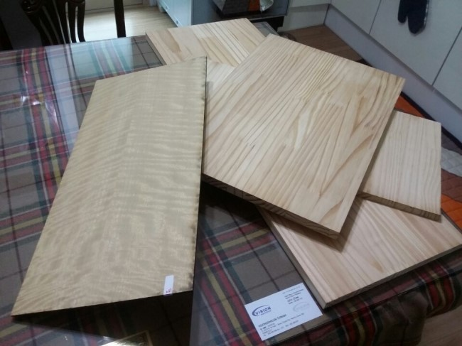 Picture of Step 3: Prepping Woods and Laser Cutting